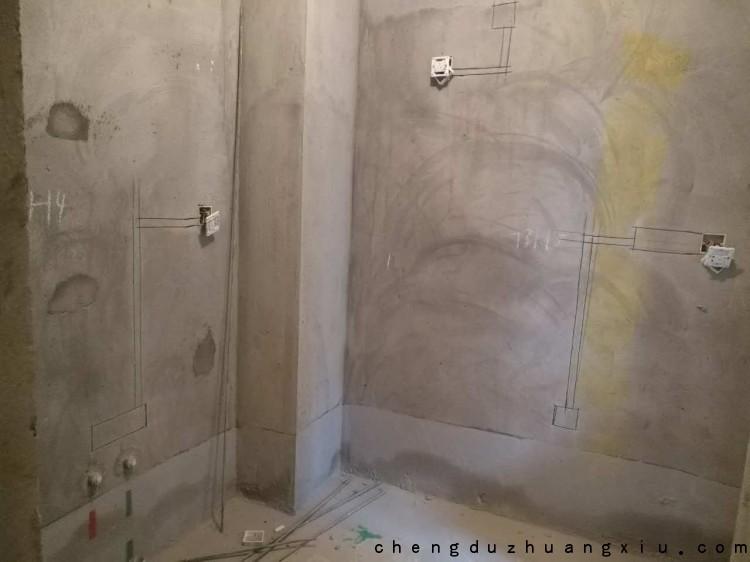 新双城厨房水电改造施工