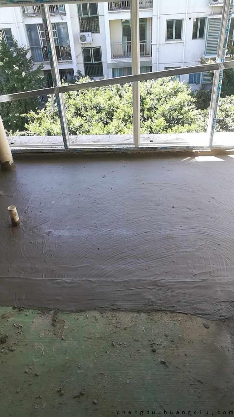 怡丰新城阳台防水施工