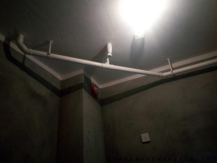 成都新双城工地闭水48小时后楼下无渗漏