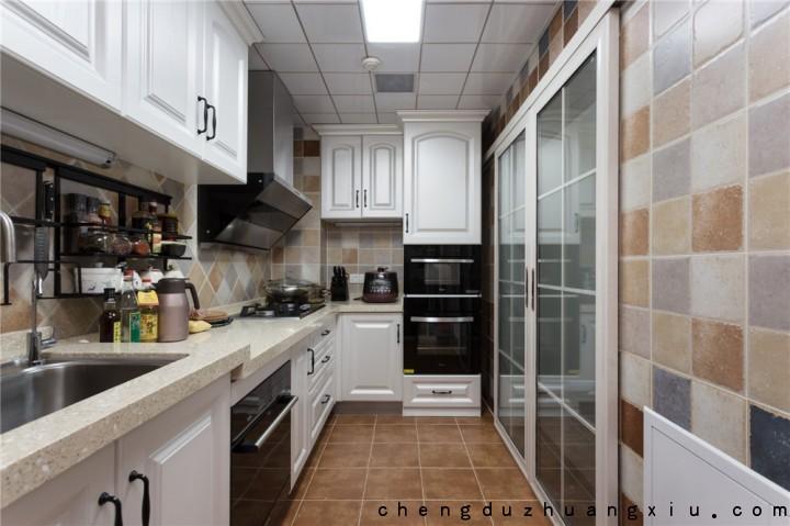 成都教师公寓简美风格装修完工照